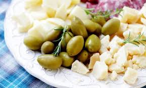 olives cheese