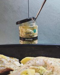 "Time to cook … with Inolivia's ""garlic in oil with herbs"""