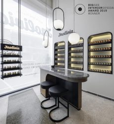 Inolivia Concept Store among the winners of the Big SEE Interior Design Award 2019